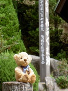 クマのルーニー 「天然記念物」の標
