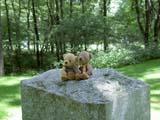クマのルーニー オブジェ