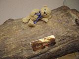 クマのルーニー 丸太