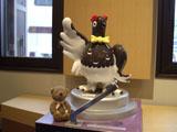 クマのルーニー ライチョウのマスコット