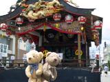 クマのルーニー 屋台