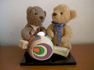 クマのルーニー 小槌とネズミ