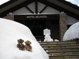クマのルーニー ホテル