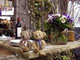 クマのルーニー 食卓