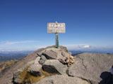 クマのルーニー 山頂からの眺め