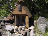 クマのルーニーと丸山神社