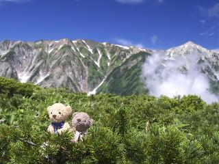 杓子岳、白馬鑓