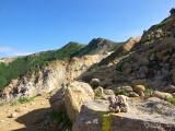 朝日岳への山道