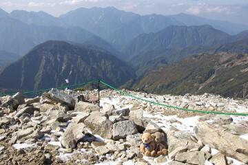 唐松岳山頂