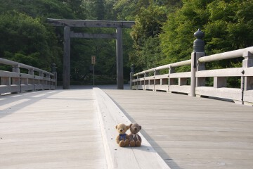 内宮の宇治橋