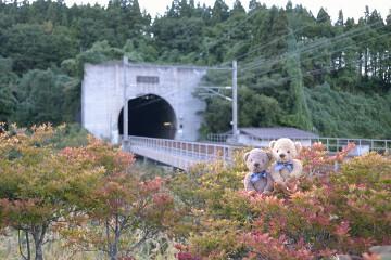 青函トンネル入口