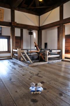 松本城 天守6階