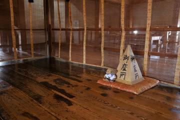 松本城 天守4階