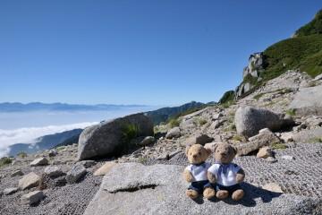 宝剣岳と雲海