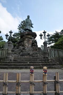 日本武尊像