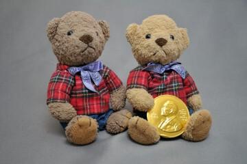 ノーベル賞メダルチョコ