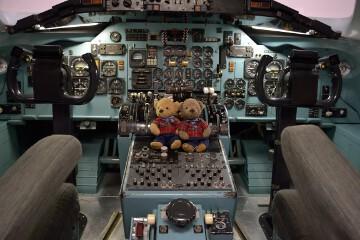 DC-9のコックピット