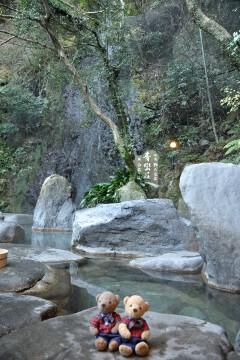 仙境 野天風呂