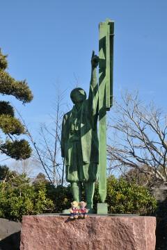 伊能忠敬の銅像