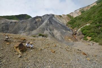日窒硫黄鉱山跡