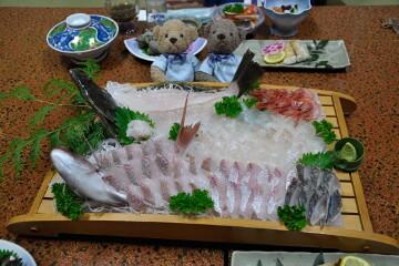 旬魚の姿造り