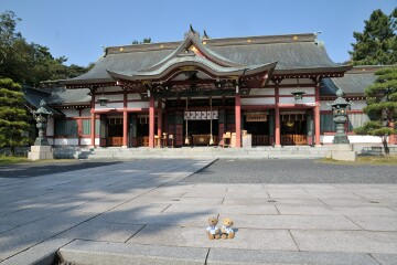 氣比神宮 拝殿