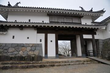 白石城 二の門