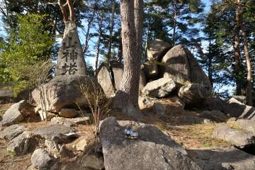 岳温泉 山神塔