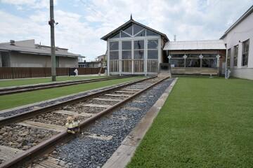 旧機関車庫