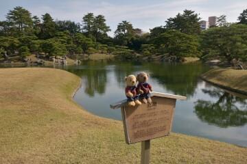 栗林公園 北湖