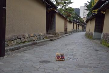 土塀の町並み