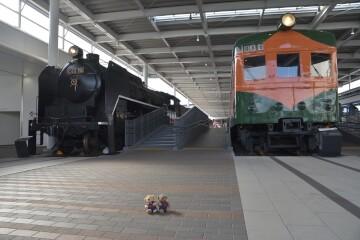 C62型機関車、80系電車