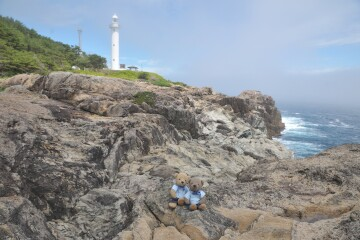 灯台と太平洋