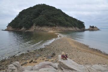 希望の道と城ヶ島
